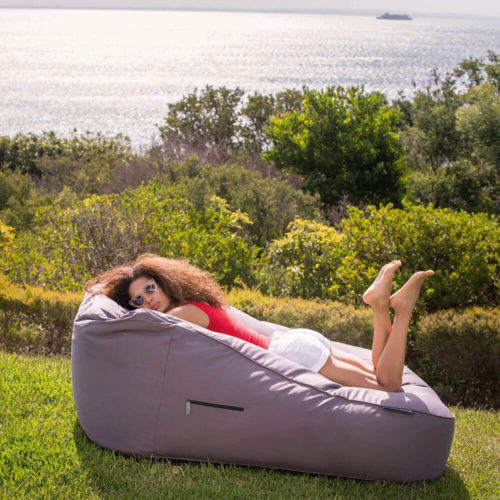 outdoor bean bag with double seating capacity for grassy area outdoor