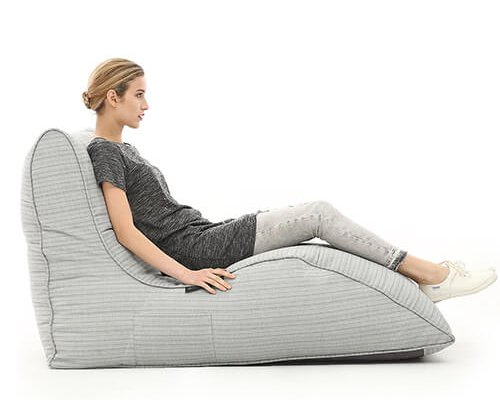 UK Hire Bean Bag by Ambient Lounge Get Instyle with Avatar Sofa Waterproof Silver Bean Bags