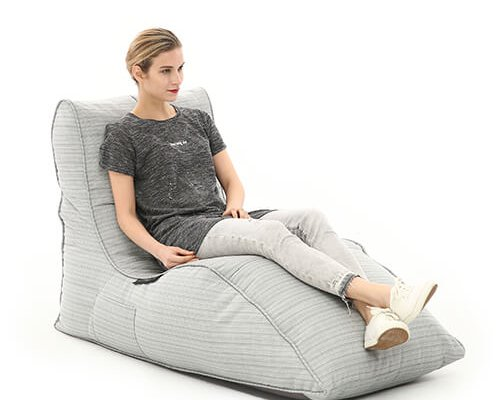 UK Hire Bean Bags by Ambient Lounge Get In-style with Avatar Sofa Waterproof Silver Bean Bag