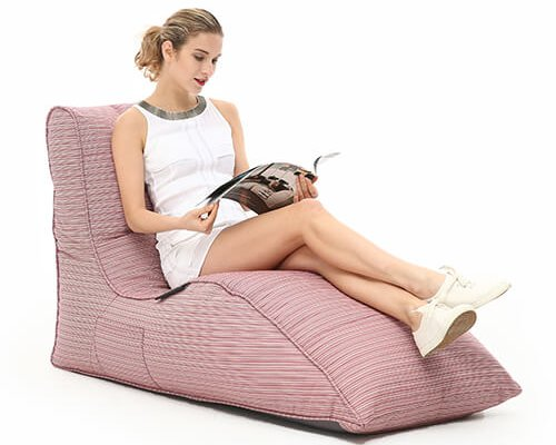 UK Bean Bag Hire by Ambient Lounge Get Relaxed Lounge with Avatar Sofa Waterproof Pink Bean Bag for Events
