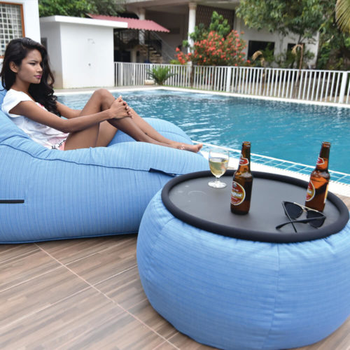 waterproof versa table perfect for poolside event or parties