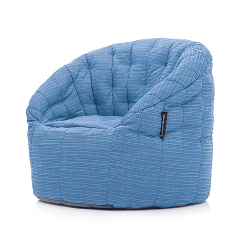 Butterfly beanbag Oceana fabric