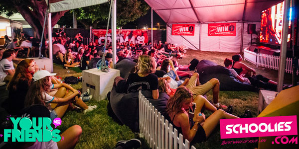 Good Life Music Festival in RNA Showgrounds has chill out zone